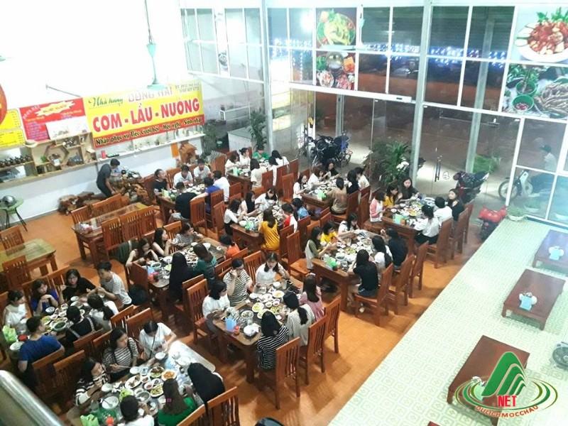 nhà hàng ngon tại mộc châu