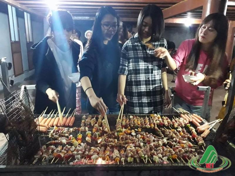Nướng BBQ tại Mộc Châu