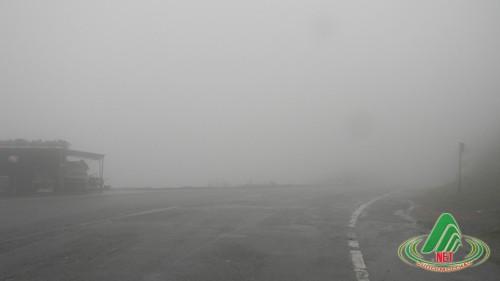 sương mù dày đặc ở mộc châu