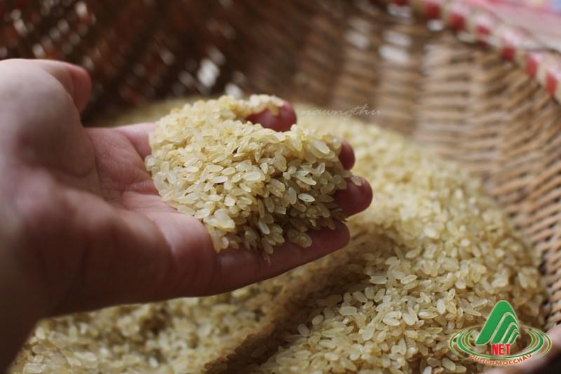 Xôi cốm, món  ăn đặc sản ở Mộc Châu